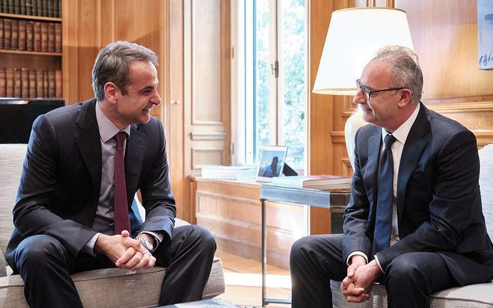 Greece stands by Cyprus, PM tells Averof | Kathimerini