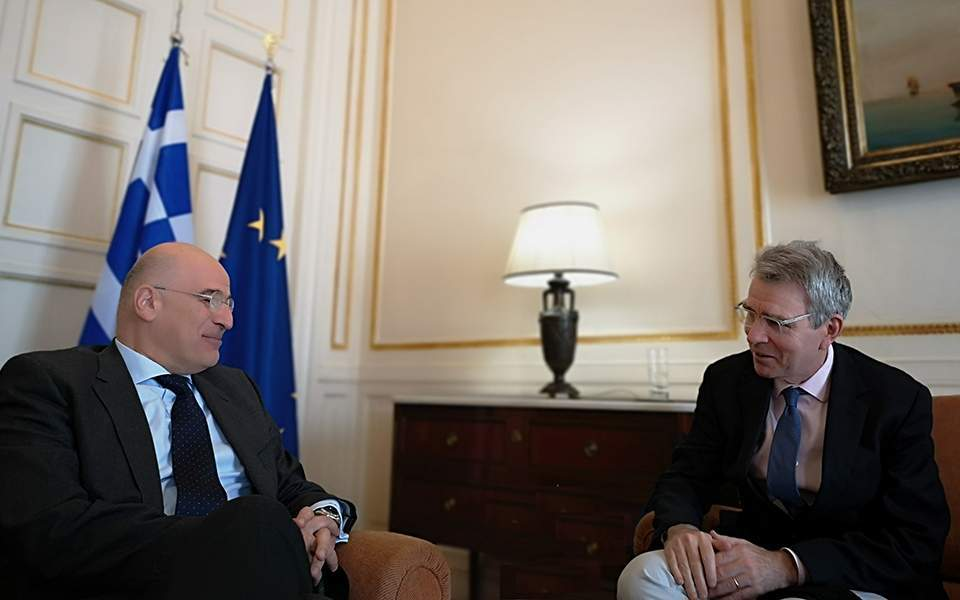 Greek FM meets with US Ambassador in Athens | News | ekathimerini.com