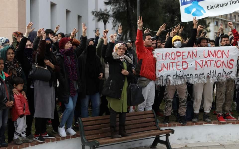 lesvos-protest
