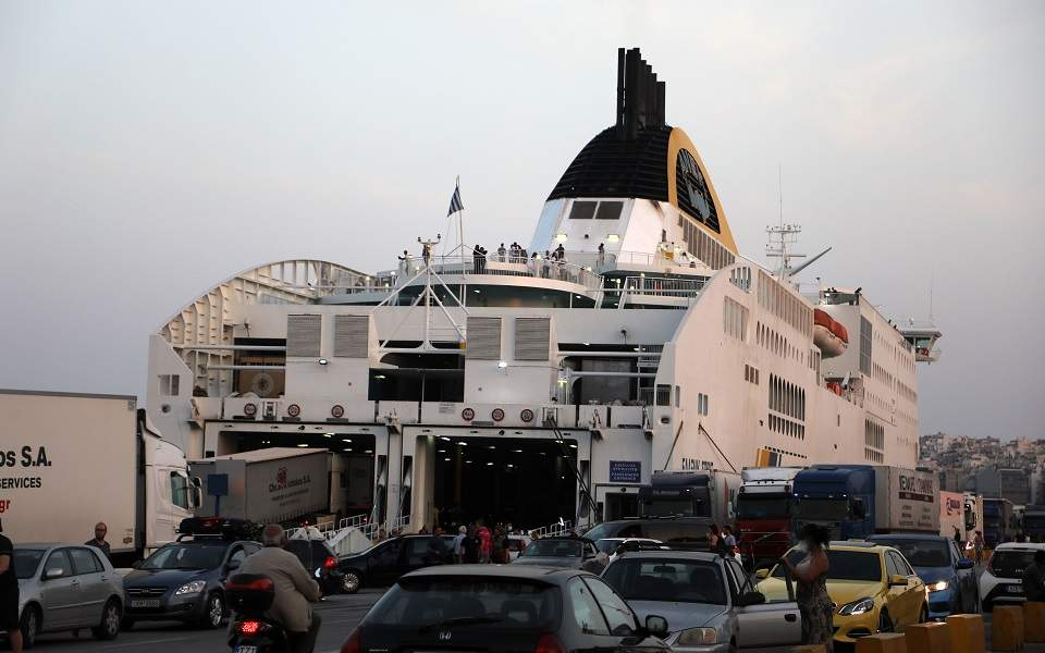 ferry services resume to all islands  though italy still