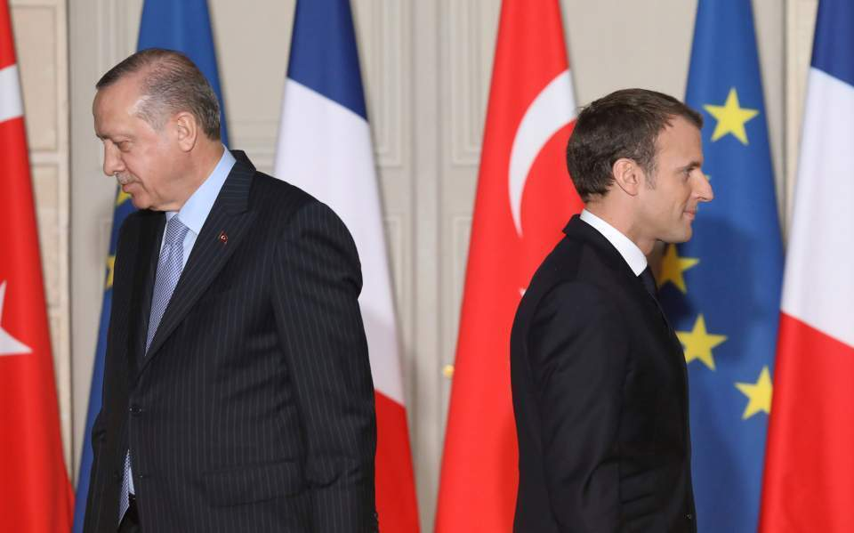 France S Macron Says He Set Red Lines With Turkey In Eastern Med News Ekathimerini Com