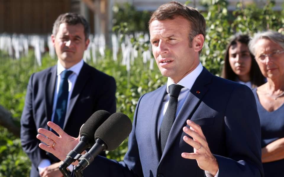 Macron Talks To Trump About East Med News Ekathimerini Com