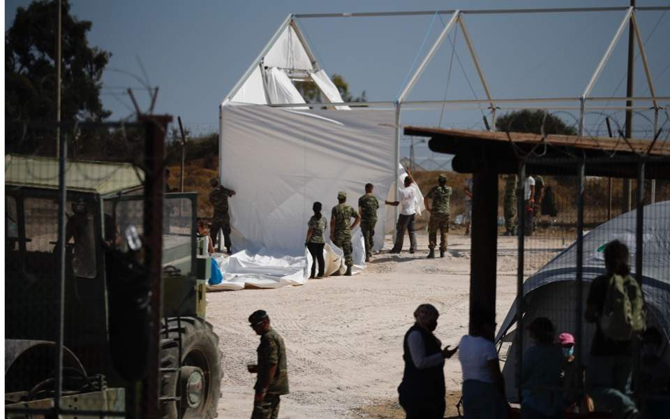 new-camp-kara-tepe-lesvos-migrant