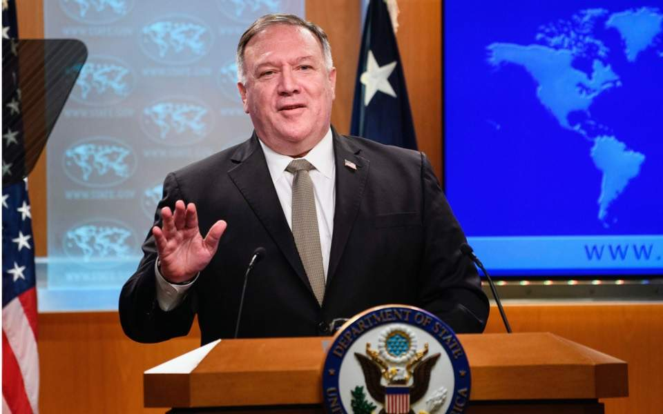 Pompeo urges diplomatic talks as Turkey eyes Kastellorizo | News | ekathimerini.com