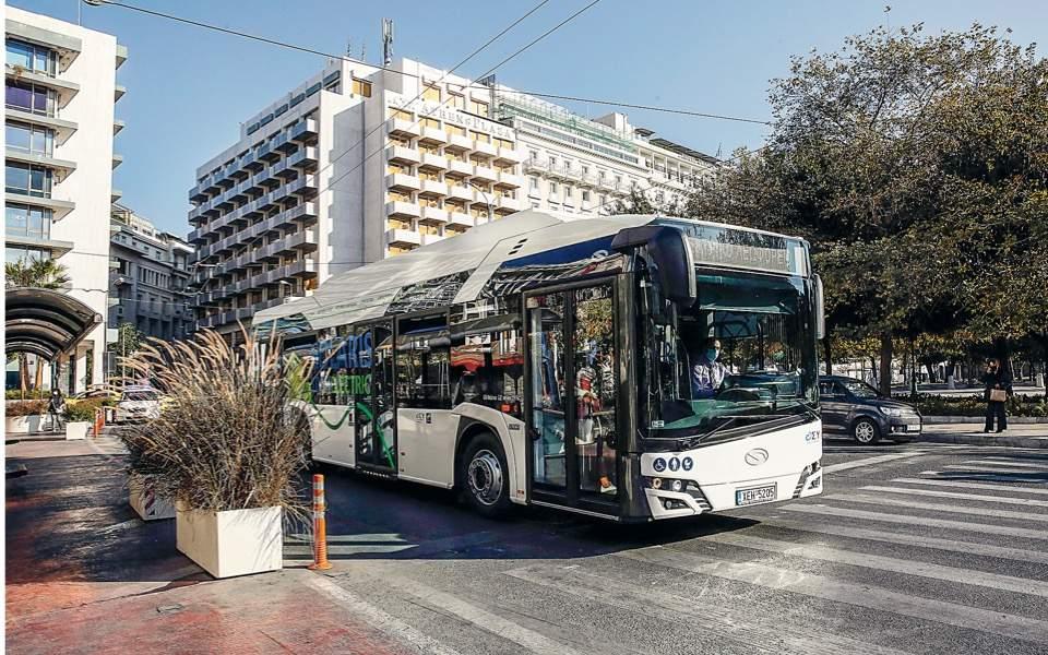 athens-bus
