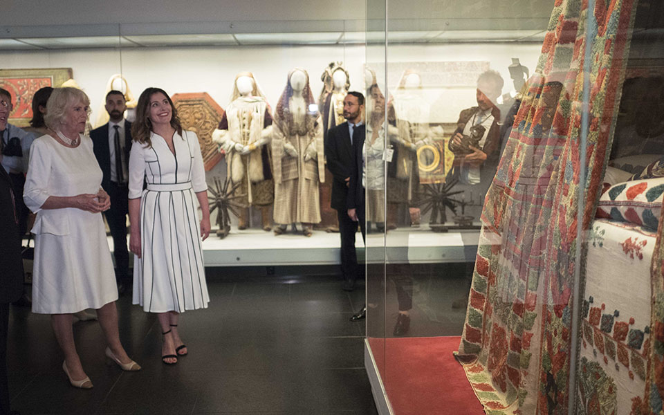 duchess-of-cornwall-visits-benaki-museum-in-athens1