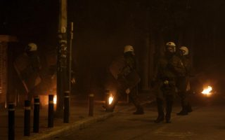 nine-arrested-over-firebomb-attack-on-athens-police-precinct