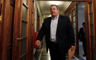 kammenos-says-syriza-independent-greeks-coalition-explored-drachma-option