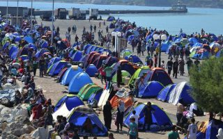 new-migrant-clashes-on-lesvos-as-eu-chief-warns-exodus-could-last-years