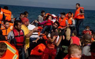 coast-guard-rescues-144-refugees-off-lesvos