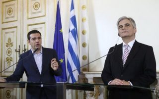 austrian-chancellor-to-visit-greece-ahead-of-help-for-refugee-crisis
