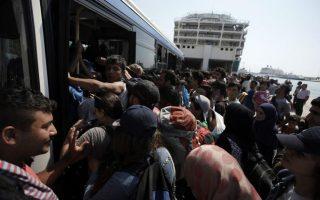 greek-pm-austrain-chancellor-touring-refugee-camps-on-lesvos