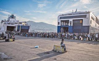 eu-tests-new-screening-process-on-refugee-hit-greek-island