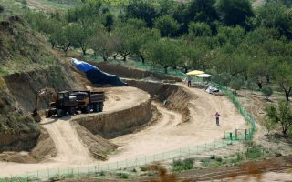 protection-measures-for-site-of-amphipolis-tomb-completed