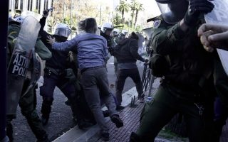 police-protesters-clash-during-rally-against-pension-reform