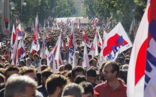 protesters-clash-with-police-in-greek-pension-reform-rally