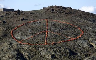 a-peace-sign-on-a-lesvos-hill0