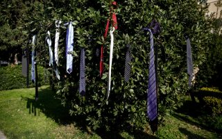 greek-professionals-stage-amp-8216-necktie-protest-amp-8217-over-pensions