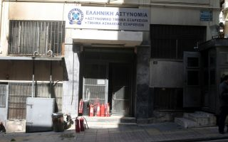 assailants-firebomb-central-athens-police-station