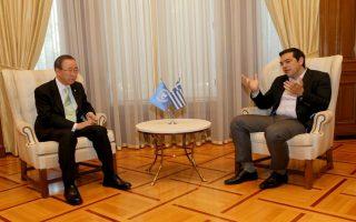 un-amp-8217-s-ban-praises-greek-efforts-to-assist-refugees