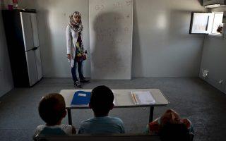 no-summer-break-for-migrant-schoolchildren-in-greek-camp