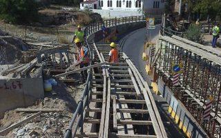 traffic-disruptions-in-piraeus-due-to-tram-extension