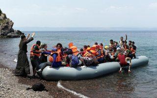 coast-guard-officers-rescue-34-migrants-off-lesvos
