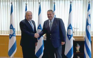 minister-reaffirms-greece-israel-defense-ties