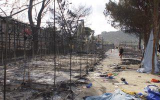 bid-to-rebuild-lesvos-camp-amid-tensions