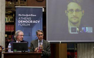 snowden-joins-athens-democracy-forum-via-video-link