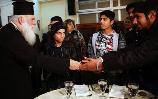 archbishop-ieronymos-meets-refugees-at-athens-shelter