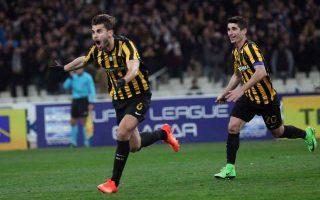 ajdarevic-strike-secures-aek-victory-over-olympiakos