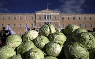 protesting-farmers-distribute-cabbages-outside-parliment
