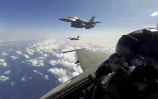 turkish-f16s-reappear-in-greek-air-space