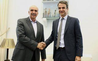 new-democracy-leader-mitsotakis-meets-predecessor-meimarakis-to-talk-tactics