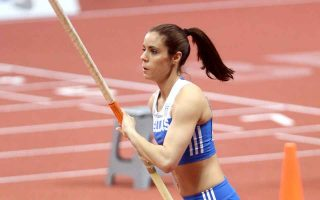 stefanidi-adds-european-indoor-gold-to-her-collection