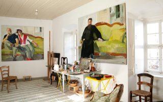 hydra-home-and-studio-of-late-painter-panayiotis-tetsis-turned-into-museum