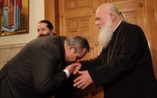 archbishop-ieronymos-sees-creditors-as-thorn-in-premier-s-side