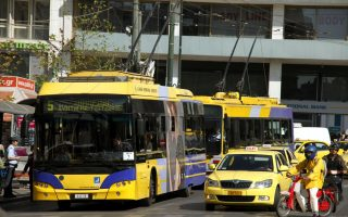 athens-trolley-buses-holding-work-stoppage-on-tuesday