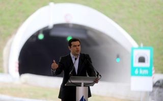 tsipras-hails-tunnel-opening-as-proof-of-greek-recovery