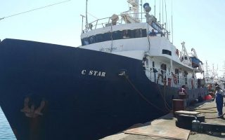 far-right-anti-migrant-ship-told-it-s-not-welcome-in-crete