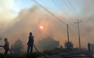 large-fire-burns-for-second-day-threatens-homes-near-athens