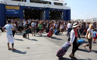 ferry-traffic-up-as-holidaymakers-start-returning