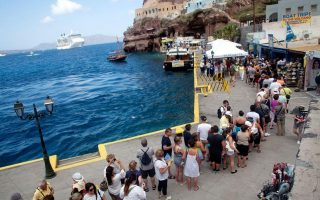tourism-boom-putting-strain-on-holiday-island-of-santorini