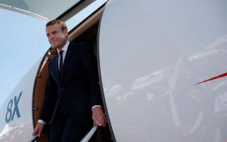 france-s-macron-to-outline-eu-vision-as-he-arrives-in-greece