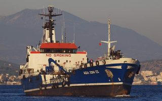 small-tanker-goes-down-in-saronic-gulf-carrying-fuel
