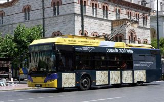 athens-bus-and-trolley-bus-drivers-holding-stoppage-on-thursday