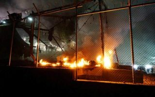 around-10-people-injured-in-clashes-at-moria-migrant-camp-on-lesvos