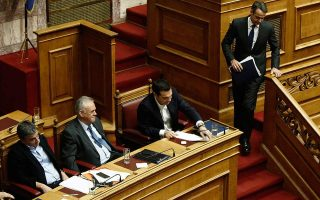 budget-approved-as-mitsotakis-challenges-clean-exit-talk