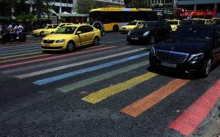 pedestrian-crossing-painted-for-athens-pride-parade